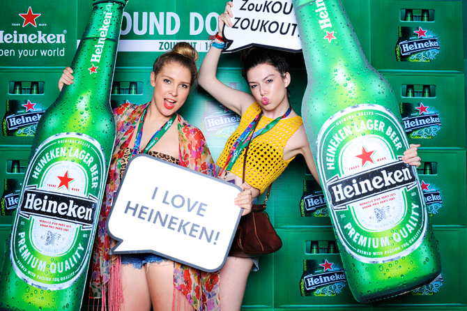 Heineken x ZoukOut 2011 Hello Stranger Singapore's Darling Event Photo Booth Highlights