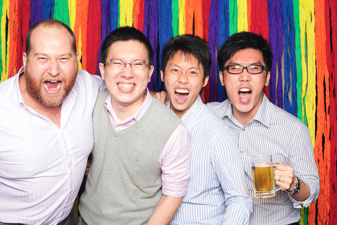 The Macquarie Group Party@Butter Factory Hello Stranger Singapore's Darling Event Photo Booth Highlights