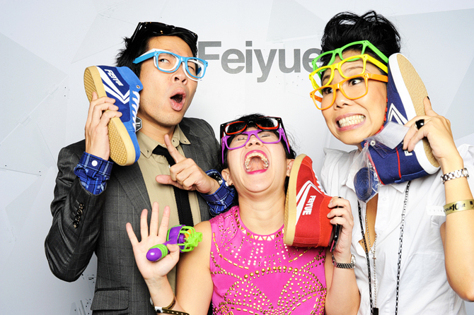 Feiyue Launch Party Hello Stranger Singapore's Darling Event Photo Booth Highlights