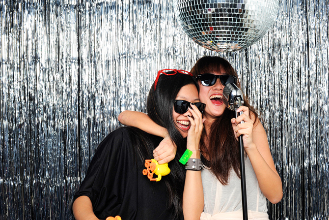 Fred Perry Subculture Hello Stranger Singapore's Darling Event Photo Booth Highlights