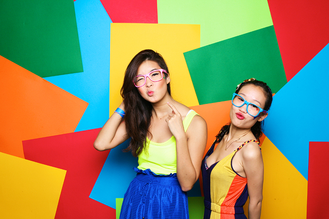 Zouk x Code: Colour Clash Hello Stranger Singapore's Darling Event Photo Booth Highlights
