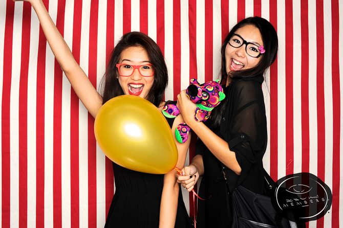 Zouk Singapore Members Party Hello Stranger Singapore's Darling Event Photo Booth Highlights