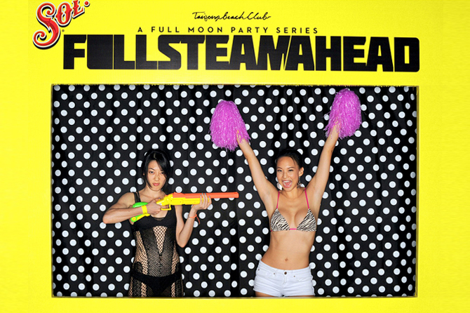 Tanjong Beach Club Full Steam Ahead Hello Stranger Singapore's Darling Event Photobooth