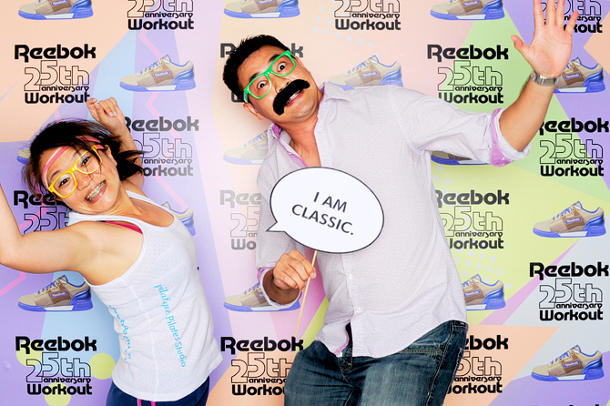 Reebok Workout Classic Hello Stranger Singapore's Darling Photobooth Highlights