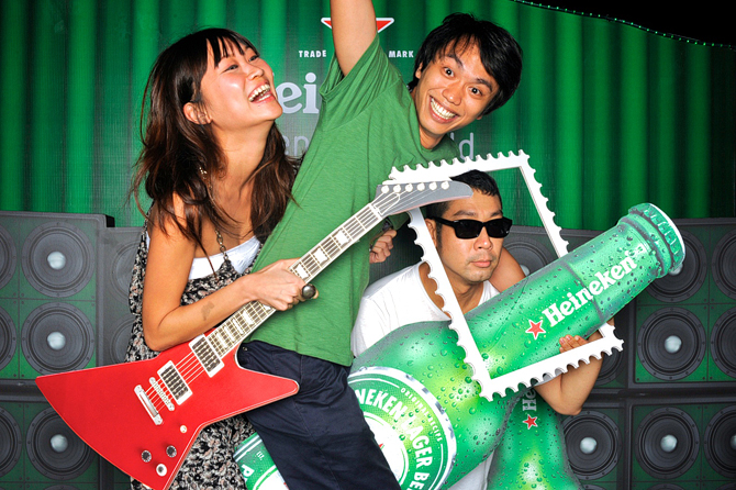 Heineken x Laneway Festival 2012 Hello Stranger Singapore's Darling Event Photobooth Highlights