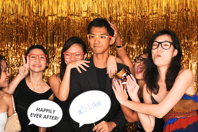 Cj & Waicheng's Hello Forever Wedding Photobooth Highlights