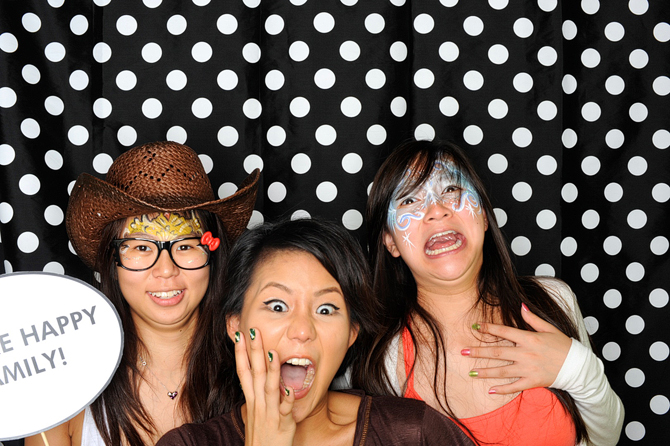 Donatella's 2nd Birthday Hello Stranger Singapore's Darling Party Photobooth