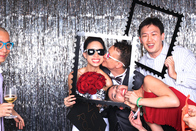 Wesley & Kelly's Hello Forever Singapore's Darling Wedding Photo Booth