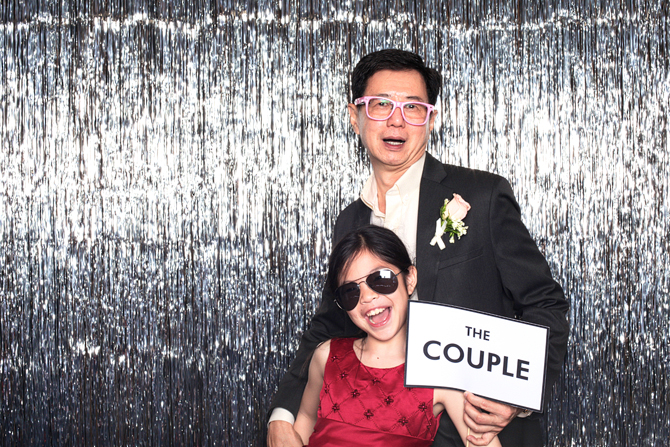 Glenn & Leanne's Hello Forever Wedding Photo Booth