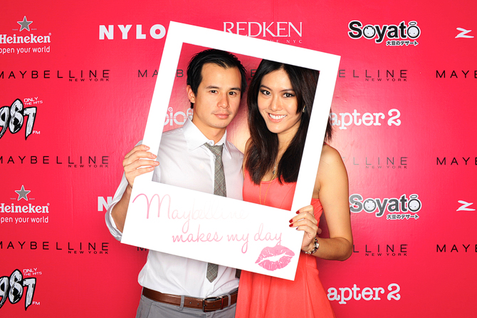 Maybelline New (York) Me Hello Stranger Event Photo Booth