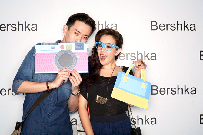 Bershka Opening Party Hello Stranger Singapore's Darling Hello Stranger Event Photobooth