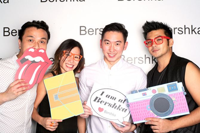 Bershka Opening Party Hello Stranger Singapore's Darling Event Photobooth