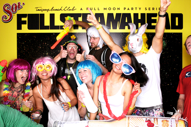 Tanjong Beach Club Full Steam Ahead Hello Stranger Singapore Event Photo booth
