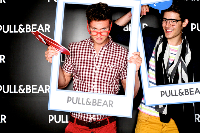 Pull and Bear Instore Hello Stranger Singapore's Darling Event Photobooth