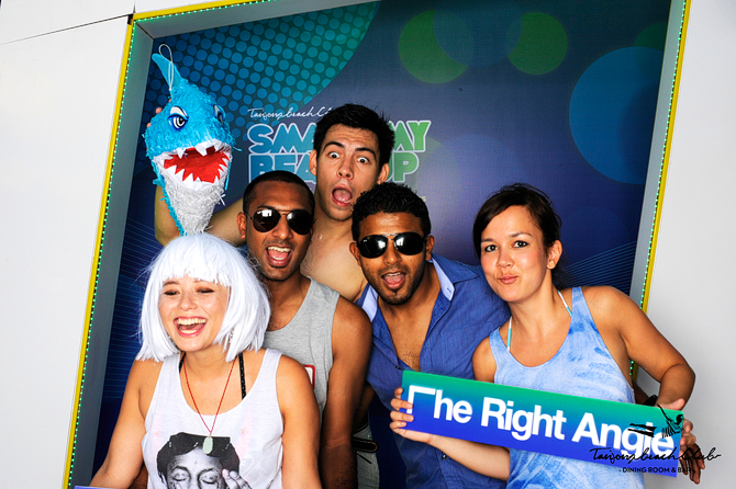 Smack my Beach Up at Tanjong Beach Club Hello Stranger Singapore's Darling Event Photo Booth