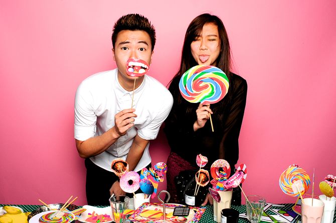 Candyland Zouk Members Party Singapore Event Photobooth