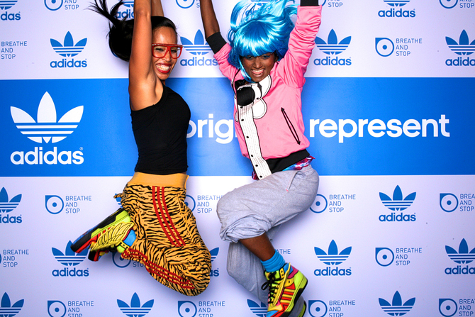Adidas All Originals Represent Zouk Singapore 2012 Singapore Event Photobooth Highlights Breathe and Stop
