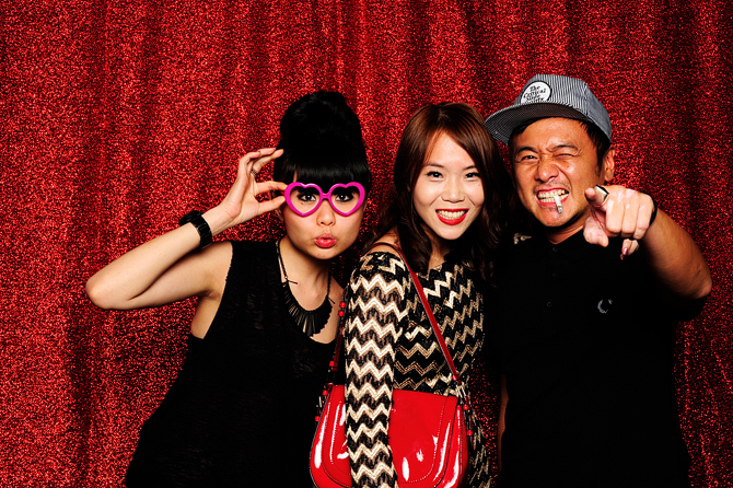 Zouk Code Red Event Hello Stranger Singapore's Darling Event Photo Booth Highlights