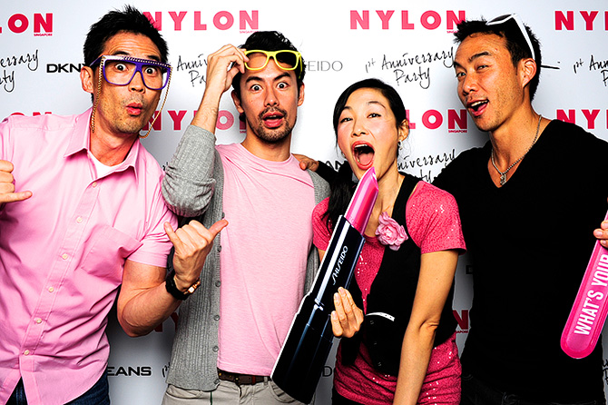 Nylon 1st Anniversary Party Zouk Singapore Photobooth Magazine