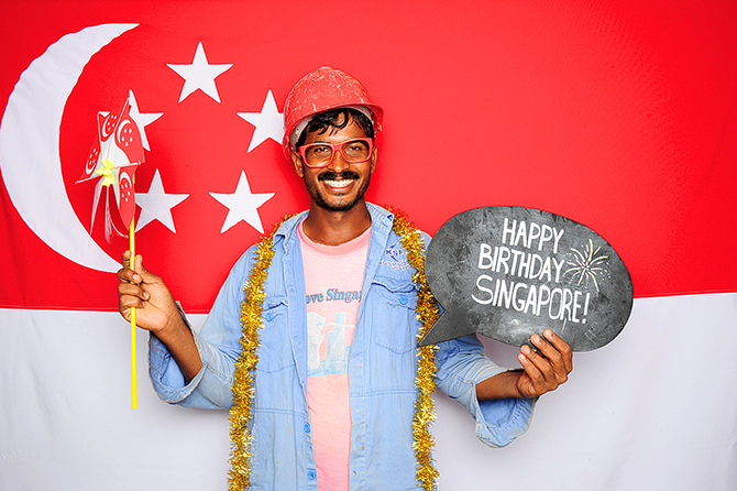 Singapore Photobooth, Hello Stranger, Happy Birthday Singaporel, National Day 2013, Hello Singapore